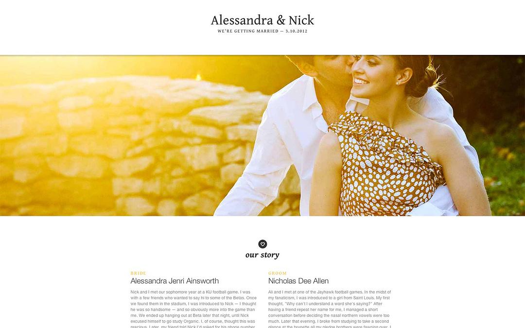 The Benefits of Having a Wedding Website